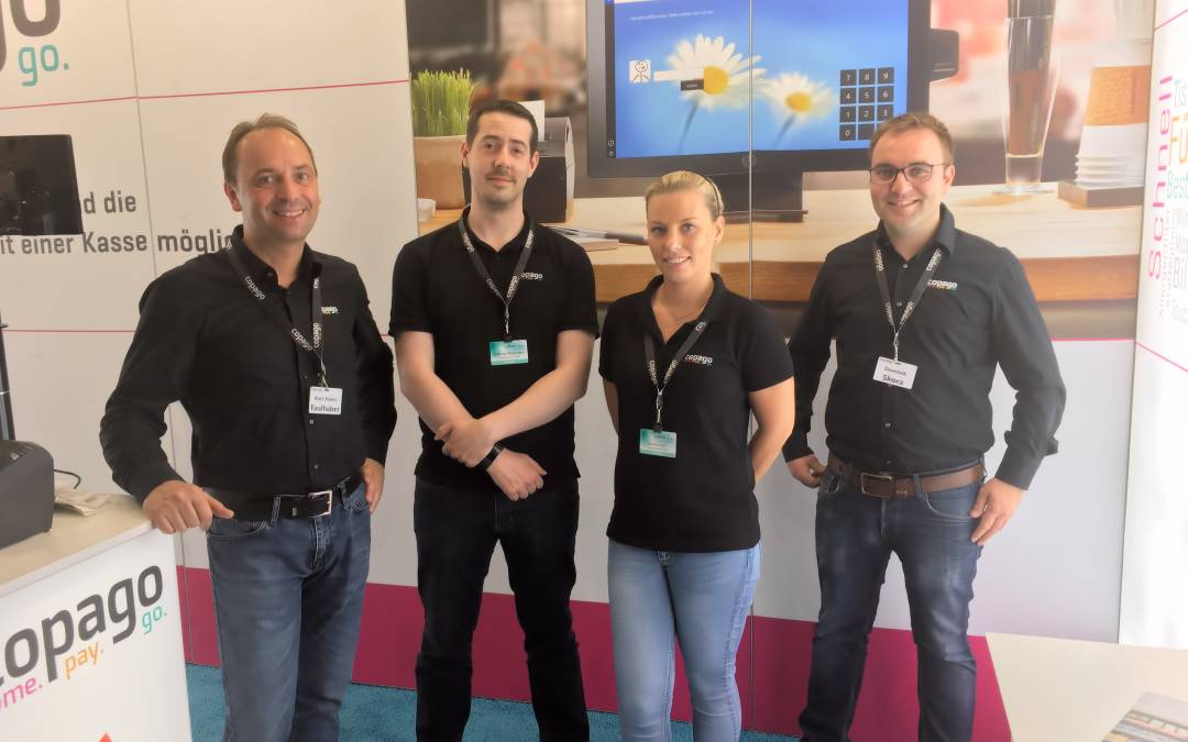 bakTAG 2017 in Dortmund: copago konnte zahlreiche Bäcker begeistern