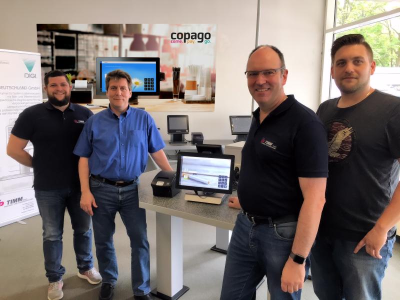 copago und TIMM Waagen- und Kassensysteme beschließen Partnerschaft
