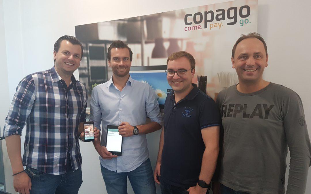 copago beschließt Kooperation mit App & Eat