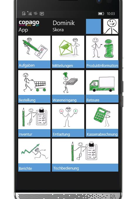 Smart durch den Tag – copago präsentiert neue Smartphone App auf der INTERNORGA